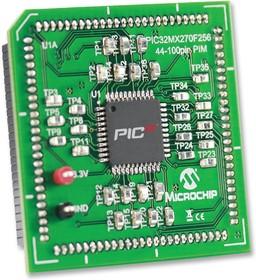 Фото 1/2 MA320014, Дочерняя плата, вставной модуль PIC32MX270F256D, для макетной платы Explorer 16