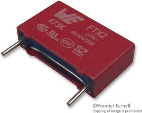 Фото 1/2 890324025004CS, Конденсатор Безопасности, 27000 пФ, Серия WCAP-FTX2, Metallized PP
