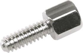 DS1045-01-1000 0480 5-B (SCR-15*) (CA-0240*), Винт 6-ти гран. Lвнеш.рез. = 5 мм, (Hгол.винта = 4.8 мм) с гайкой