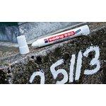 Фото 2/2 Edding 950#49 (белый), Маркер для промышленной графики, пигментная паста, 10 мм, блистер
