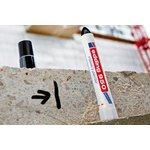 Фото 2/2 Edding 950#1 (черный), Маркер промышленный, пигментная паста, 10 мм, блистер