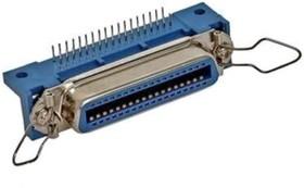 CENR-50F (DS1079- F50), Centronic-50 розетка на плату угловая