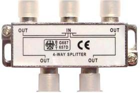 PL1107 -2500, Разветвитель (Сплиттер) антенный на 4 направления 5-2500 мгц