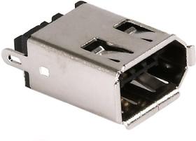 IEEE 1394 (DS1113), Розетка 6pin на кабель