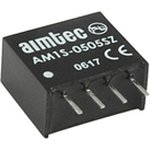 AM1S-0512SZ, DC/DC преобразователь, 1Вт, вход 4.5-5.5В, выход 12В/0.1A