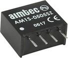 AM1S-1205SZ, DC/DC преобразователь, 1Вт, вход 10.8-13.2В, выход 5В/0.2A