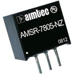 AMSR-7805-NZ, DC/DC преобразователь, 2.5Вт, вход 6.5-32В ...