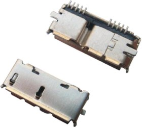 Micro USB 3.0 (DS1104-01), Розетка на плату SMT
