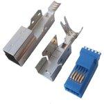 USB 3.0 B (DS1108-01), Вилка на кабель