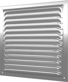 1212МЦ, 1212МЦ, Решетка вентиляционная вытяжная стальная с оцинкованным покрытием 125х125 (1212МЦ)