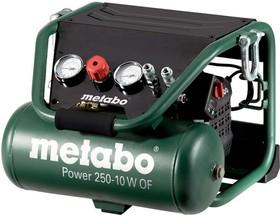 Фото 1/2 Компрессор безмасляный Power 250-10 W OF 1.5кВт 10л 220/м Metabo 601544000