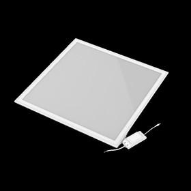 Фото 1/3 Светильник светодиодный 595х595х7.2 36Вт 2850лм 4000К IP40 панель ультратонкая с драйвером (аналог ЛВО) Gauss 145024236