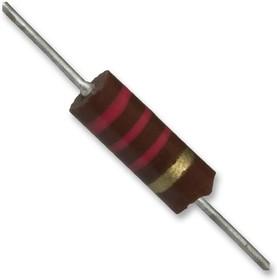 OF102JE, Резистор в сквозное отверстие, Little Demon®, 1 кОм, 350 В, Осевые Выводы, 500 мВт, ± 5%, Серия OF