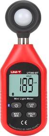 Фото 1/4 UT383BT, Измеритель освещенности, люксметр цифровой с Bluetooth