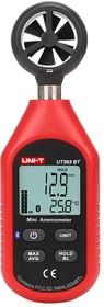 Фото 1/4 UT363BT, Измеритель скорости и температуры воздушного потока, термоанемометр с Bluetooth