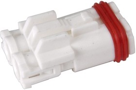 02R-MWPV-SSRR, Корпус разъема розетка водозащищенная кабельная 7.0мм