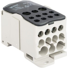 Блок распределительный КРОСС крепеж на панель и DIN КБР-400А EKF plc-kbr400