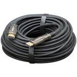 Активный оптический кабель HDMI 80м v2.0 19M/19M AOC Premium Series