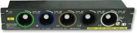 PBX-SL-PD-EU-660, Разъем ввода питания, Серия POWERLOCK, Гнездо, 1 кВАС, 660 А, Монтаж в Панель