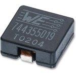 744311047, Силовой Индуктор (SMD), 400 нГн, 19 А ...