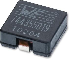 744314760, Силовой Индуктор (SMD), 7.6 мкГн, 4.2 А, Экранированный, 4.8 А, Серия WE-HCI, 7мм x 6.9мм x 4.8мм