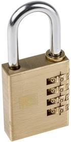 K25006-40, Brass Combination Padlock