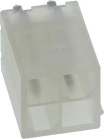 35317-0420, Разъем типа провод-плата, 4.2 мм, 4 контакт(-ов), Штыревой Разъем, Mini-Fit Jr. 35317 Series