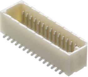 Фото 1/2 53307-1071, Разъем типа провод-плата, 0.8 мм, 10 контакт(-ов), Штыревой Разъем, 53307 Series