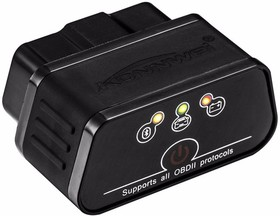 Фото 1/7 Адаптер Konnwei KW 903 Wi-Fi, OBDII сканер для диагностики автомобилей