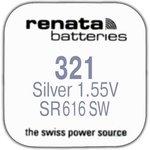 R 321 (SR 616 SW, 1.55V, 13mAh, 6.8x1.6mm)(батарейка для часов)