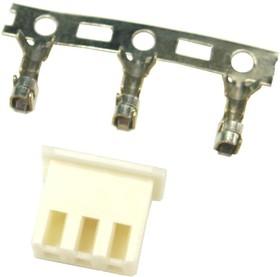 CHU-3 (DS1069-3 F), Розетка кабельная с контактами 2.50мм