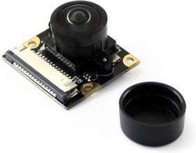 """Фото 1/4 RPi Camera (M), Камера для Raspberry Pi Model B+/2/3, объектив""""рыбий глаз"""", угол обзора 200гр, 5mpx"""