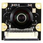 """Фото 2/4 RPi Camera (M), Камера для Raspberry Pi Model B+/2/3, объектив""""рыбий глаз"""", угол обзора 200гр, 5mpx"""