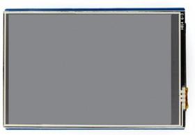 Фото 1/4 3.5inch TFT Touch Shield, TFT дисплей 480×320px с резистивной сенсорной панелью совместимый с Arduino UNO/Leonardo, UNO PLUS