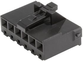 Фото 1/2 2074580006, Conn Housing RCP 6 POS 3.96mm Crimp ST Cable Mount Black Bag