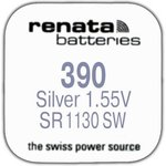 Фото 2/2 390 SR1130S, батарейка оксид-серебр., 1 шт.