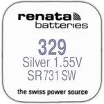 Фото 2/2 R329 (SR 731 SW), Элемент питания оксид серебра (1шт) 1.55В