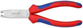 Клещи KNIPEX KN-1345165 для удаления оболочки хромированные 165 mm