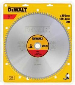 Круг пильный твердосплавный DEWALT DT1926-QZ Ф355/25.4 66 TCG +1.5° EXTREME по стали