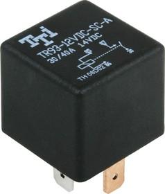 TR93-12VDC-SC-A-R, Реле 1зам. 12V / 30A, 14VDC