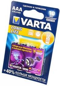 VARTA LONGLIFE 4103 LR03 BL4, Элемент питания