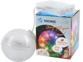 Фото 1/2 КОСМОС KOCNL_8cm_IP44 шар, цвет свечения мульти, диаметр 8 см, Светильник