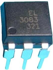 EL3083, Оптопара с симисторным выходом 600В, переключение при переходе через ноль [DIP-6]