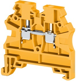 AVK2,5 RD (желтый), Клеммник на DIN-рейку 2,5мм.кв.