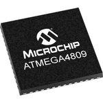 Фото 2/2 ATMEGA4809-MFR, 8 Bit MCU, AVR Family ATmega4809 Series Microcontrollers, 20 МГц, 48 КБ, 6 КБ, 48 вывод(-ов), QFN