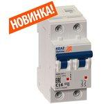 Выключатель автоматический модульный 2п C 10А 6кА OptiDin ...