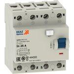 Выключатель дифференциального тока 4п 25А 30мА OptiDin ...