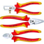 VDE-набор шарнирно-губцевого инструмента 3 предмета
