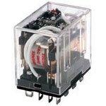 Фото 2/2 SZR-LY4-N1-AC110-120V, Power Relay 110/120VAC 10A 4PDT(41.5x28x42.4)mm Socket