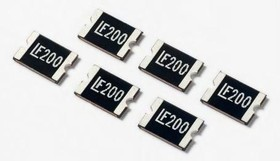 1812L260/12MR, PTC Resettable Fuse 2.6A(hold) 5A(trip) 12VDC 100A 0.8W 5s 0.015Ohm SMD Solder Pad 1812 T/R